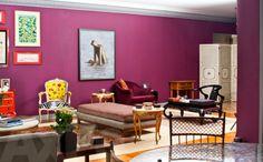 Muita cor nesse apartamento no Jardim Paulista, em São Paulo, SP. #decor #apartamento #interiordesign