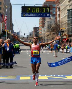 Meb Keflezighi, an Olympian and winner of the New York City and Boston marathons, shares with Yahoo Health his training regimen, pre-race ritual, and the reason he loves to run.