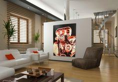 trennwande wohnzimmer ein kunstvolles cooles wohnzimmer einrichten design und ideen trennwande wohnzimmer