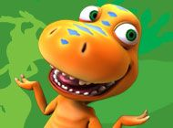 Buddy is always ready for exciting adventures on the Dinosaur Train!