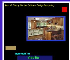 Natural Cherry Kitchen Cabinets Design Decorating 093823 - The Best Image Search