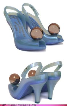 Bubble shoes. I don't know why, but I really like these. Very Disney princess, right?