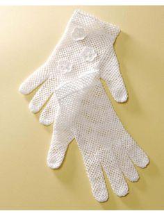 Bridal Gloves crochet pattern!
