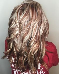 50 Beautiful Fall Hair Color To Look More Pretty 530 - hair - Hair Color Fall Hair Colors, Cool Hair Color, Blonde Fall Hair Color, Red Blonde Brown Hair, Blonde Hair Red Lowlights, Light Hair Colors, Hair Color Ideas, Auburn Blonde Hair, Blonde Foils