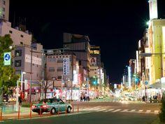 La photo du jour : lonely taxi, à Asakusa - Tokyo ©somazeon