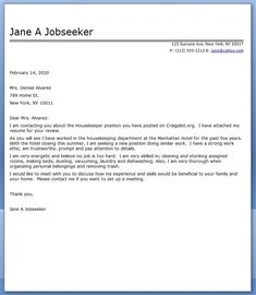 Sample Cleaner Cove Letter Executive Housekeeper Cover Letter Sample First  Job Resume Event .
