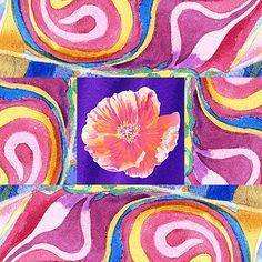 Irina Sztukowski - Festive Floral Poppy