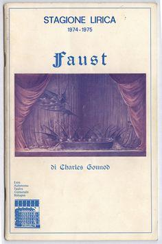FAUST - copertina libretto di sala | Flickr: Intercambio de fotos