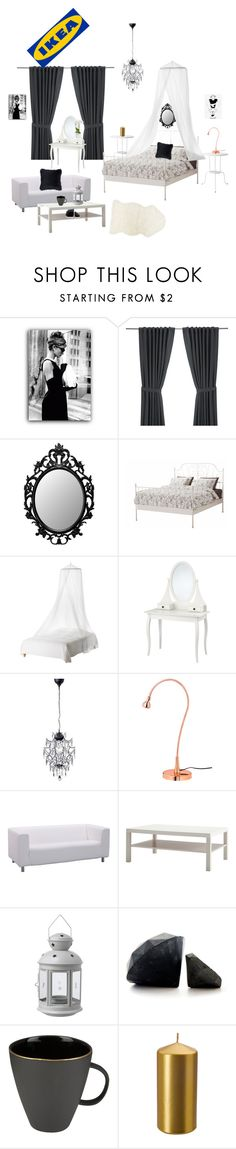 """""""Untitled #9"""" by i-violet-x ❤ liked on Polyvore featuring interior, interiors, interior design, home, home decor, interior decorating, Klippan, Canvas Home and Entree"""