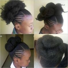 natural bun hairstyles bun with natural hair bun on natural hair natural bun - Natural Hair Styles Natural Bun Hairstyles, African Hairstyles, Afro Hairstyles, Pretty Hairstyles, Straight Hairstyles, Updo Hairstyle, Wedding Hairstyles, Natural Hair Gel, Natural Hair Bun Styles
