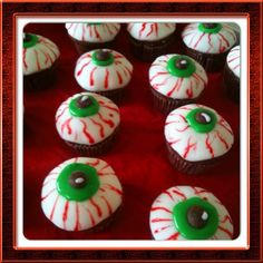 Vegan Halloween Chocolate Eyeballs