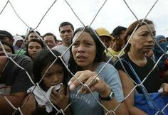 Philippines storm survivors beg for help and supplies