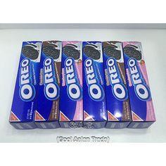 OREO White Chocolate Strawberry Sandwich Cookies 100g x 6 Boxes Free Shipping #Oreo