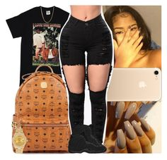 """""""Untitled #1198"""" by msixo ❤ liked on Polyvore featuring MCM, NIKE and Rolex"""