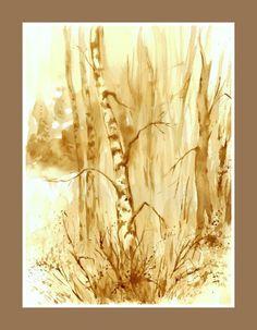 Coffee Drawing, Coffee Painting, Coffee Art, Watercolour Painting, Pencil, Beer, Goals, Paintings, Wine