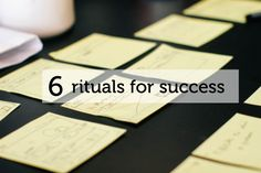 6 Easy-to-Steal Rituals That Will Set You Up for Success // themuse.com