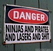 I want a trespassers beware version of this!