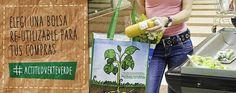 #bolsareutilizable #compras verteverde.com