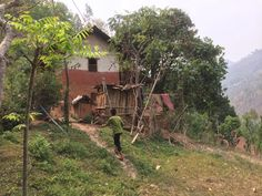 It my beautiful home Ruru Gulmi  Tharobato  Nepal  Yam subedi