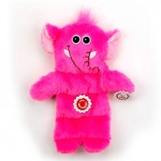 Brinquedo para Cães Múltiplo Squeaker Elefante Indoor Flatty Afp - MeuAmigoPet.com.br #petshop #cachorro #cão #meuamigopet