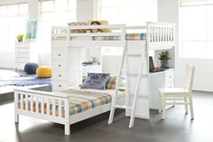 Astro Loft Bunk Bed Frame by John Young Furniture