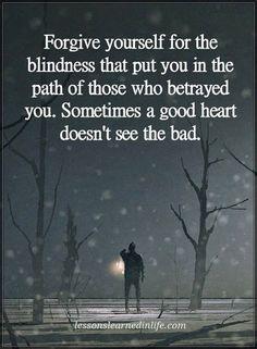 Forgiveness....