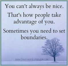 No siempre ser nice