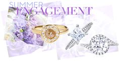 Breathtaking engagement rings from Anne Sportun, Sholdt, and Danhov, at Greenwich Jewelers.