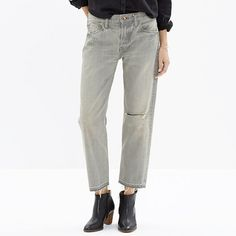 <b>Risk-Free Jeans: Free shipping and returns on all jeans, all the time. </b>We know great denim when we see it, and this cult-favorite, splurge-worthy label has turned expert fading and washing into an art form. Each and every piece—including these perfectly slouchy ankle-length jeans—is made in Japan by expert tailors using high-quality local denim and brilliant detailing. Simply put, it's absolutely extraordinary denim, and we are one of the very few places in the world to stock it. ...