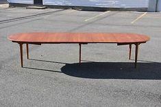 Oval Mid Century Table by Hans J. Wegner | eBay
