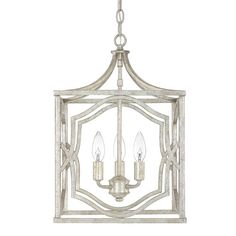 Blakely Antique Silver Three Light Foyer Fixture Capital Lighting Fixture Company Other Pe