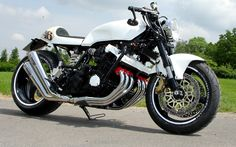 Garage Project Motorcycles — If you were going to choose a base for a cafe...