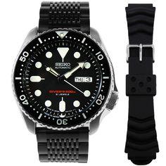 Seiko Automatic Watches, Seiko 5 Sports Automatic, Seiko Watches, Mens Watches Online, Watches For Men, Scuba Diving Watches, Authentic Watches, Seiko Diver
