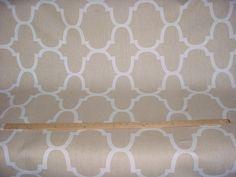 6-1/4 yards Kravet / Windsor Smith Riad Tan Upholstery drapery fabric by lifeinweave