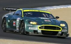 Preview wallpaper aston martin, dbr9, 2007, green, front view, style, sports, car, racing car, asphalt