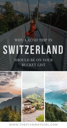 Switzerland - a country of mountains, lakes, idyllic towns and (of course) cheese and chocolate. Find out why a Switzerland road trip MUST be on your bucket list!