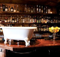 Bathtub Gin & Co - Seattle - a Speakeasy style bar in the heart of Belltown with custom cocktails.