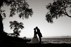 Lovely black and white photo