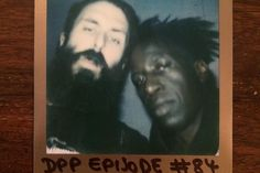 """21/2/16 - Scroobius Pip interviews Saul Williams, """"The church was the original start up company. They set the code. We are still viewing the world through their code. All the wealth, power, subjugation, corruption, patriarchy, It's like a Catholic Chrome browser"""""""