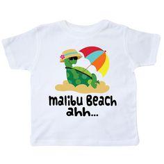 inktastic Boca Raton Florida Swimming Sea Turtle Toddler Long Sleeve T-Shirt
