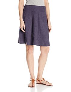 71d95031b prAna Womens Vendela Skirt Indigo Medium * Read more at the image link.  (This
