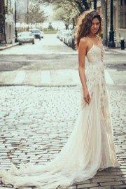 cool 49 Bohemian Chic Wedding Dresses Inspiration Ideas  http://viscawedding.com/2017/12/28/49-bohemian-chic-wedding-dresses-inspiration-ideas/