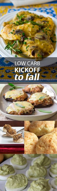 Low Carb Kickoff to Fall - As the seasons change, so often do our menus – fall makes us crave more comfort food, as the days and nights get cooler. Why not kick off your season with some our favorite low carb recipes! Comfort food doesn't have to be heavy and full of unnecessary calories or carbs. Try using some different ingredients and you'll be enjoying some delicious, crave-worthy, lower-carb meals in no time