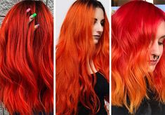 63 Hot Red Hair Color Shades to Dye for: Red Hair Dye Tips & Ideas hair color shades Red Hair dark red hair dye Dark Red Hair Dye, Warm Red Hair, Shades Of Red Hair, Dyed Red Hair, Orange Shades, Hair Color Auburn, Auburn Hair, Red Hair Color, Hair Colors