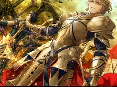 Fate/Zero | Archer Gilgamesh & Lancer Diarmuid Ua Duibhne