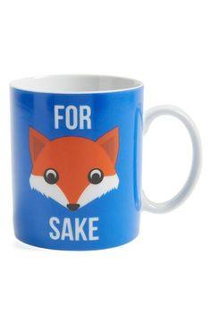 For fox sake coffee cup. CUTE!