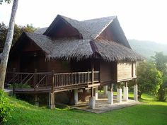 Traditional Malay House On Stilts picture