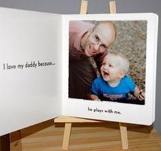 Custom Board Book photos