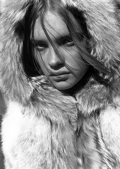 "dormanta: "" Natalia Vodianova in ""Lost Highway"" by Carter Smith for Vogue Japan November 2002 """