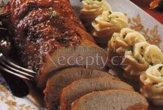 Staročeská vepřová kýta Meatloaf, Lime, Pork, Food And Drink, Kale Stir Fry, Limes, Pork Chops, Key Lime